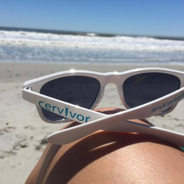White Cervivor Sunglasses
